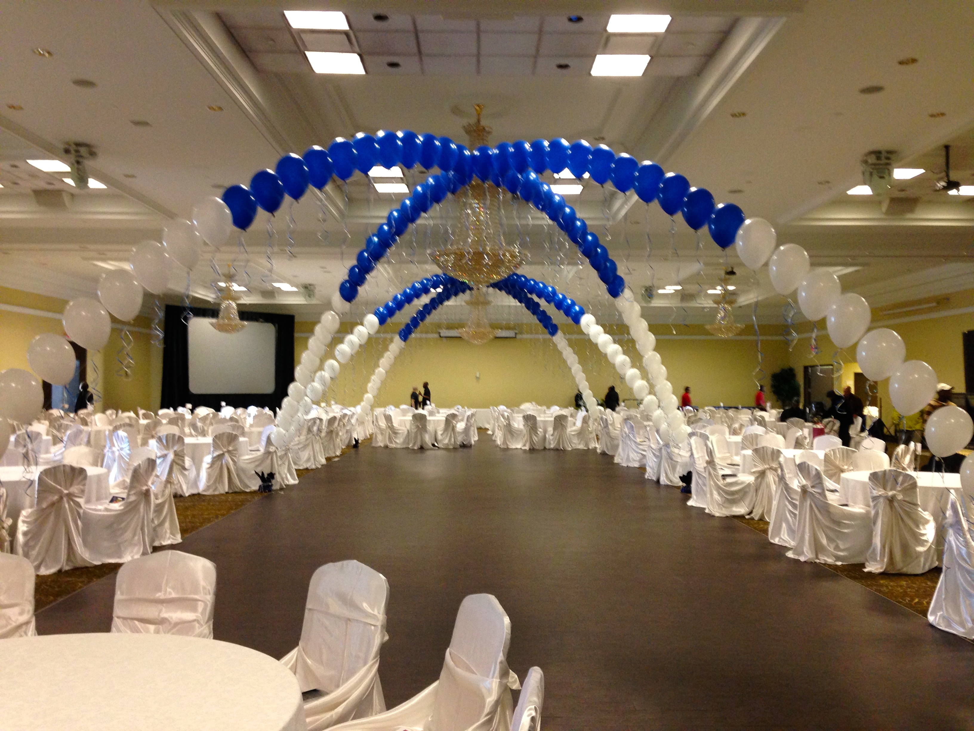 Balloon decorations sas party decorations for Balloon decoration ideas