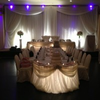 Royal head table